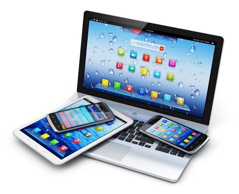 19291916 - mobile devices, wireless communication technology and internet web concept